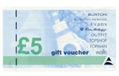 £5 Arcadia Group Giftcard