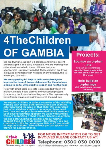 4thechildren of Gambia